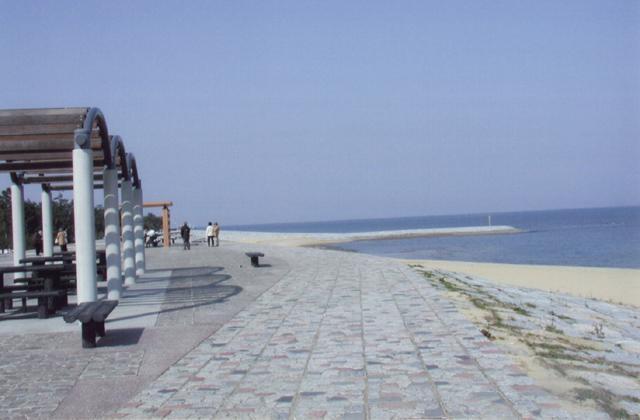 浜の宮海岸潮干狩