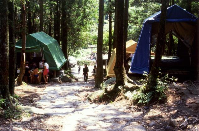 御手洗の滝キャンプ場