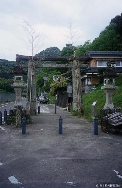 武雄神社的肥前鳥居