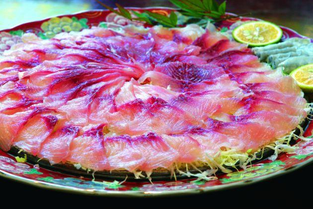 鯉料料理(小城市)