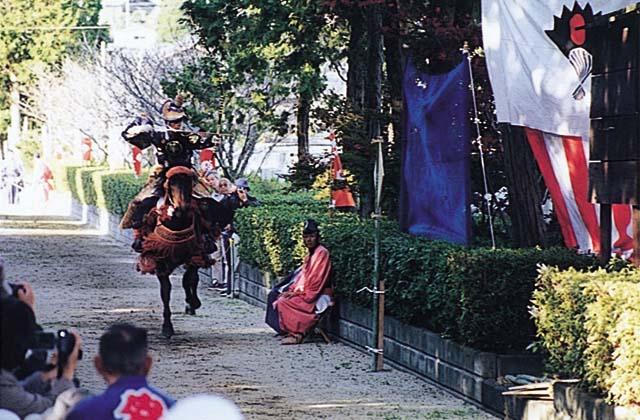流鏑馬(黒髪神社お供日)