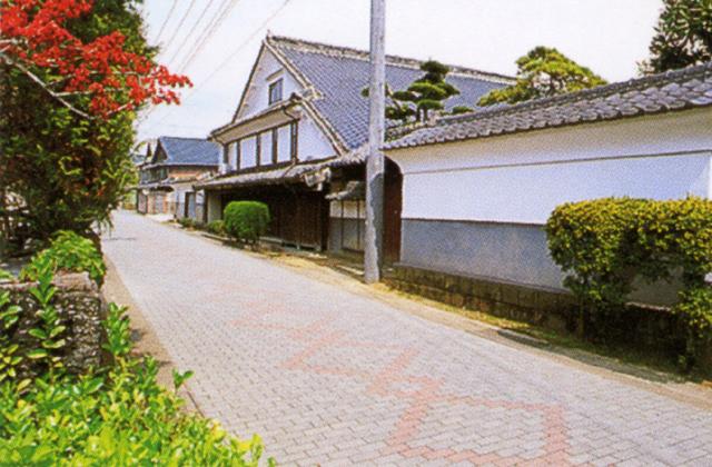長崎街道小田宿