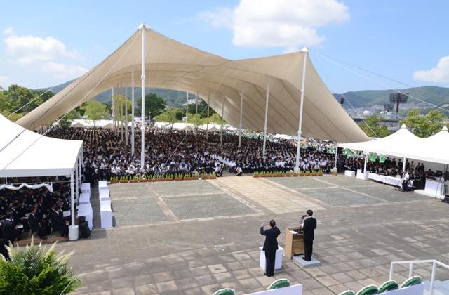 長崎原爆犠牲者慰霊平和祈念式典