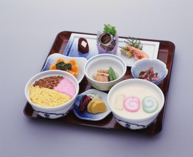 茶碗蒸和蒸shizushi