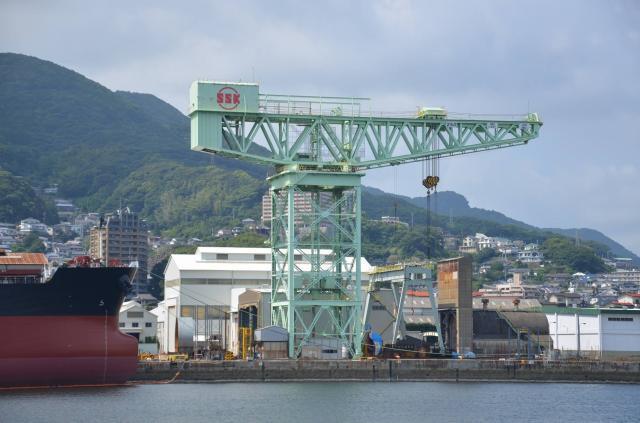 佐世保重工業(株)250トンクレーン