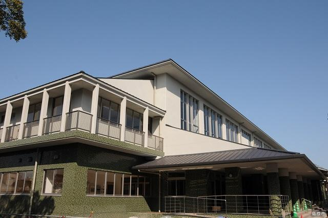 Shimabara-shi gymnasium, Kyudo ground