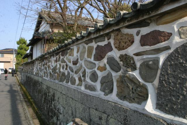 Kusaba alley samurai residence street