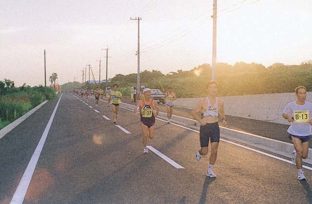 五島列島夕やけマラソン