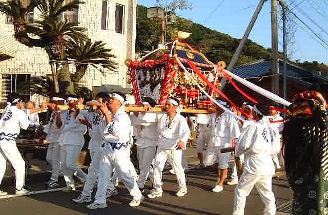 奈留神社例祭