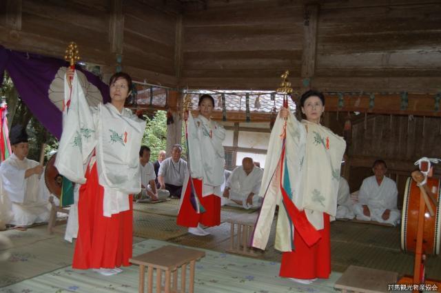 和多都美神社古式大祭