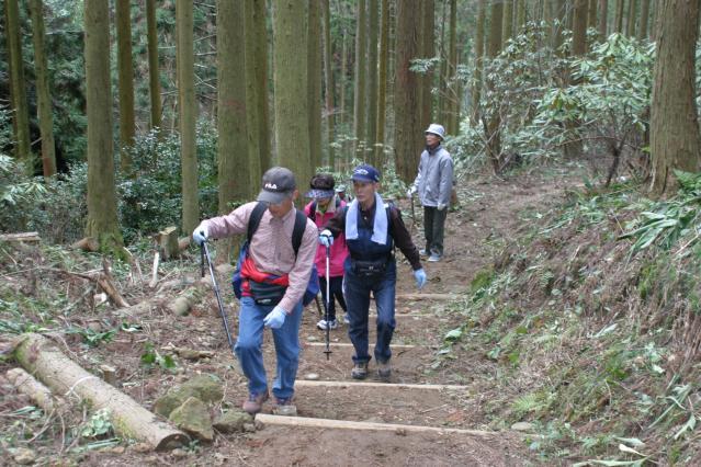 虚空蔵山ハイキングコース