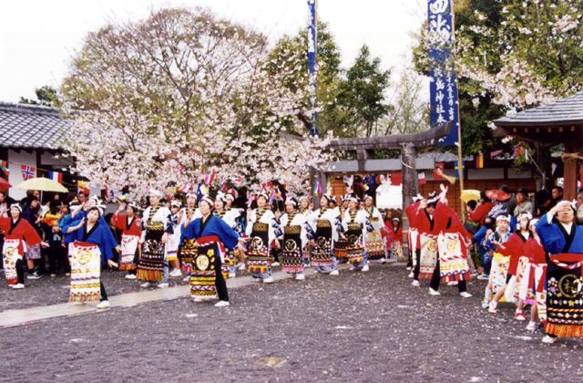 淡島神社桜まつり
