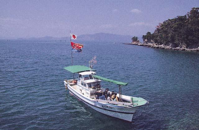湯の児海上花見船