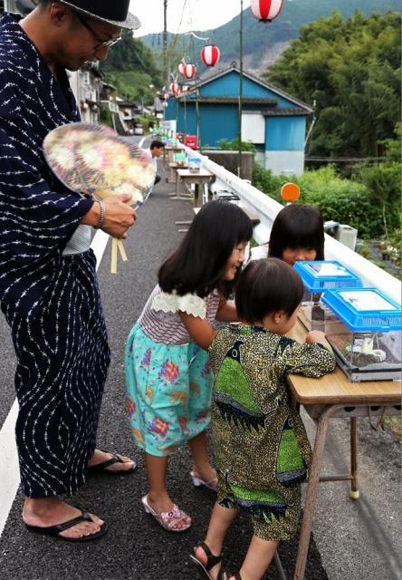 湯の鶴夏まつり(鈴虫祭り)