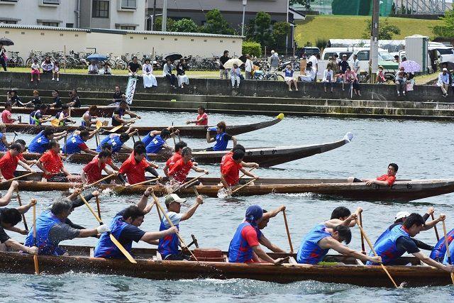 水俣競り舟大会