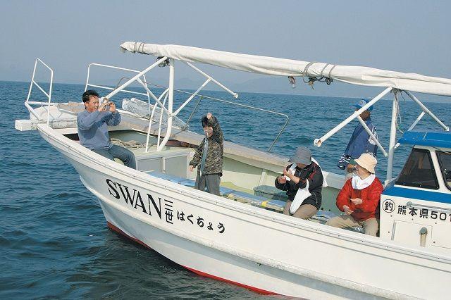 湯の児太刀魚釣り