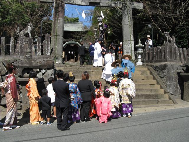 伊倉南北八幡宮大祭(ねり嫁行列)