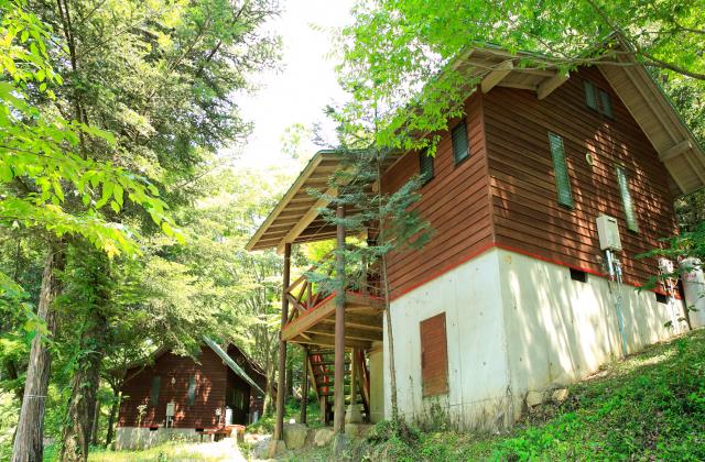 岳間渓谷キャンプ場