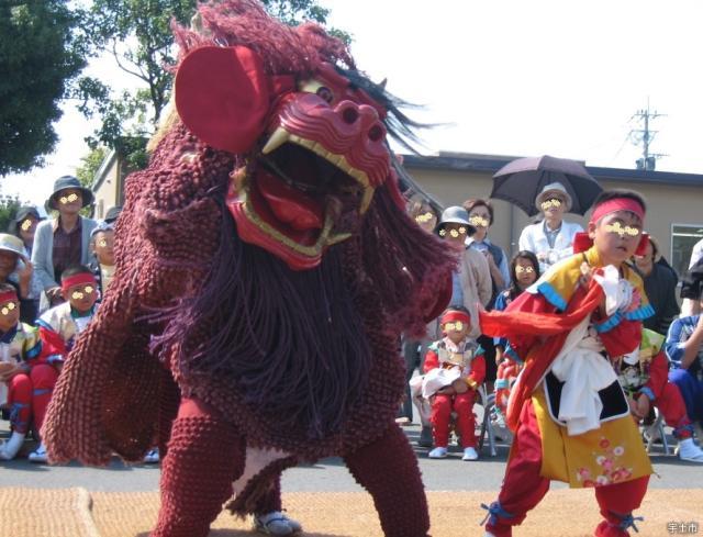 宇土御獅子舞