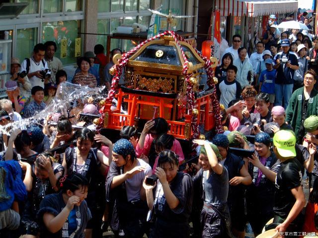 下田温泉祭