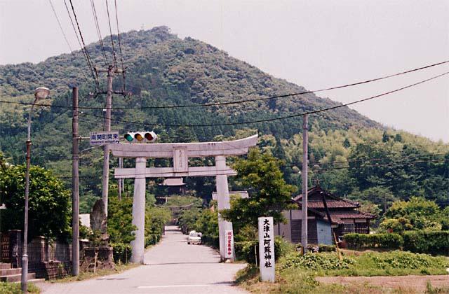 大津山阿蘇神社