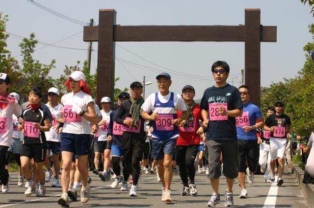 (中止)関所健康マラソン大会