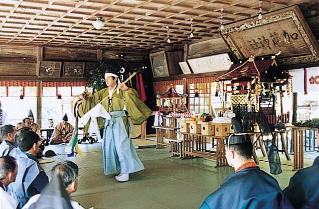 貝洲加藤神社秋季例大祭