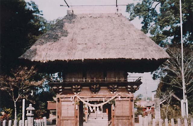 王宮神社楼門