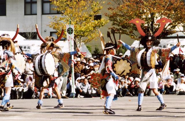 葛沢の太鼓踊り