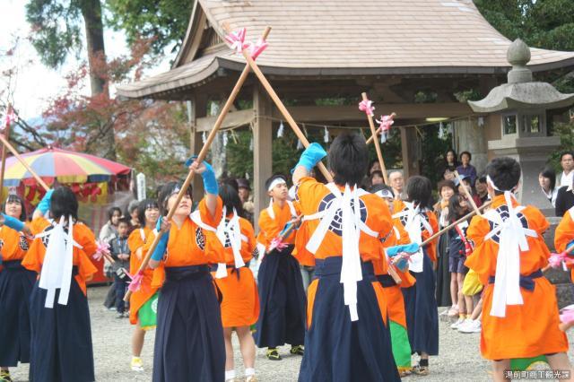 浅鹿野棒踊り