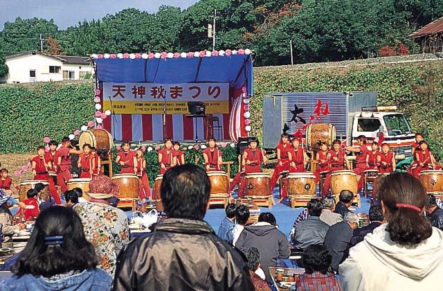 十島菅原神社秋季大祭