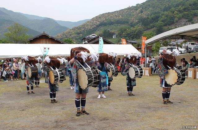 田口の太鼓踊り