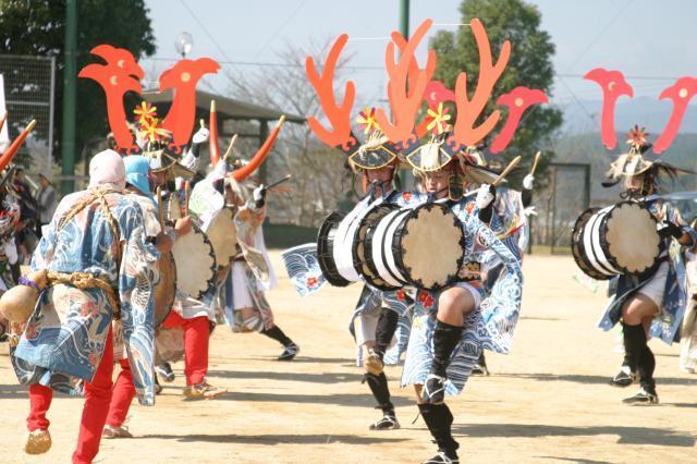 臼太鼓踊り(熊本県あさぎり町)