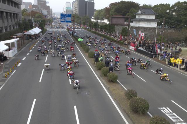 大分国際車いすマラソン大会
