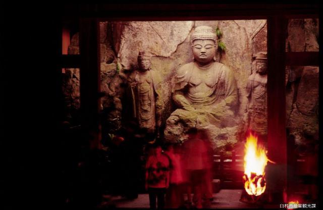 国宝臼杵石仏火まつり