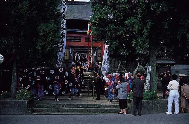 城原八幡社大祭