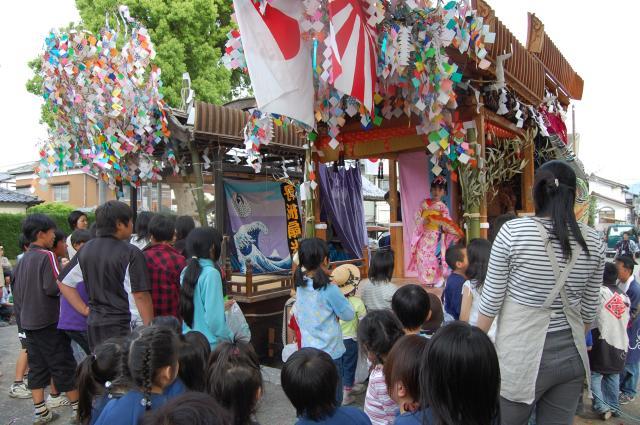 長洲神社 葵祭り