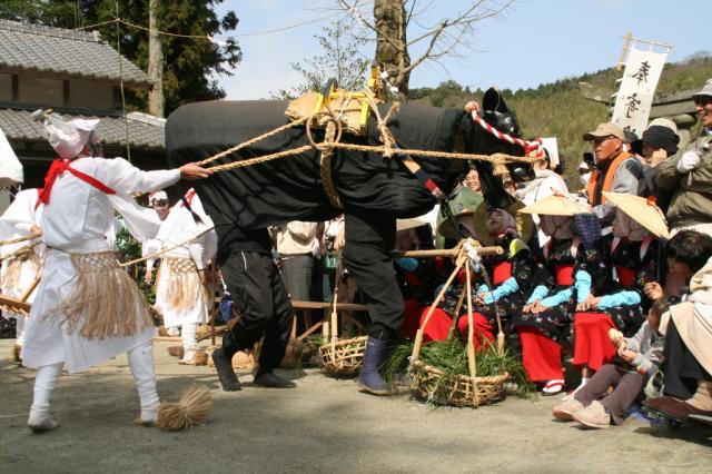 諸田山神社 御田植祭