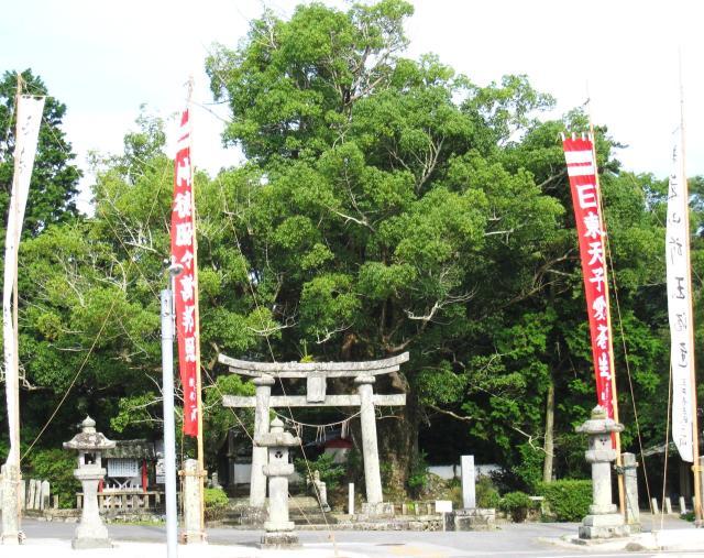 楽庭八幡社
