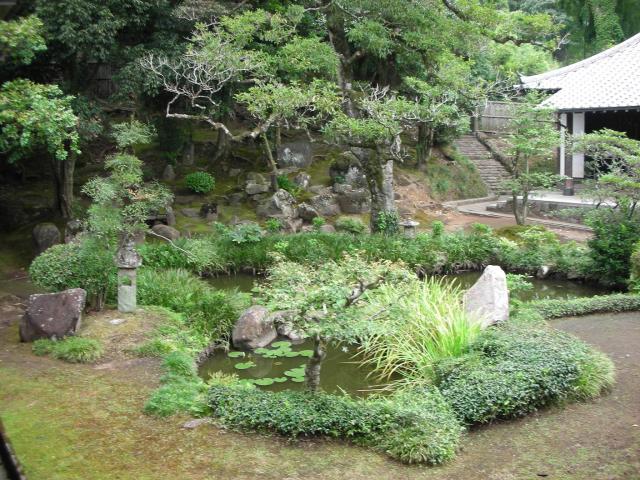 雪舟の庭(松屋寺)
