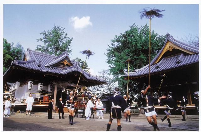 日出若宮八幡神社例大祭