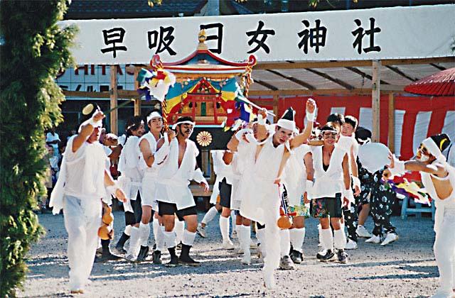 関の権現早吸日女神社夏祭り