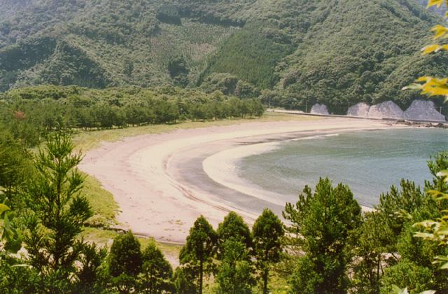 波当津海水浴場