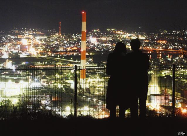 愛宕山展望台(宮崎県延岡市)