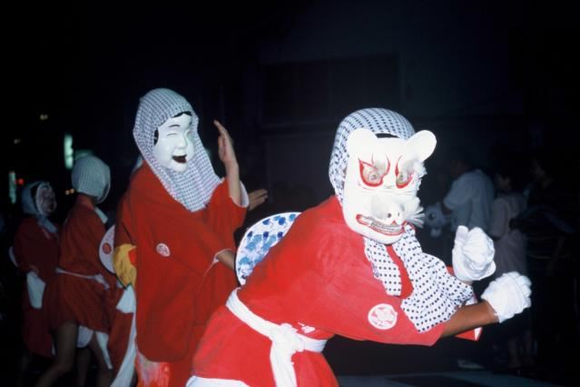 市指定無形民俗文化遺產永田的火男舞