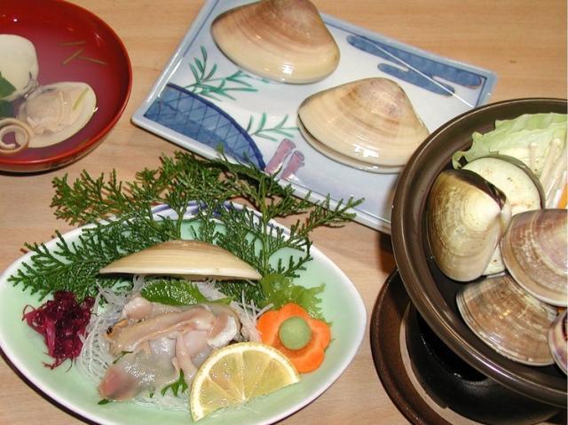 ハマグリ料理