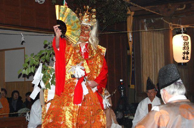 銀鏡神社大祭 銀鏡神楽