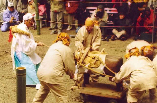 狭野神社 苗代田祭(ベブガハホ)