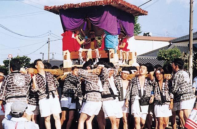 本庄稲荷神社夏祭り
