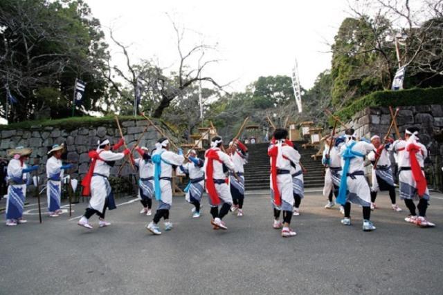 鴫野棒踊り